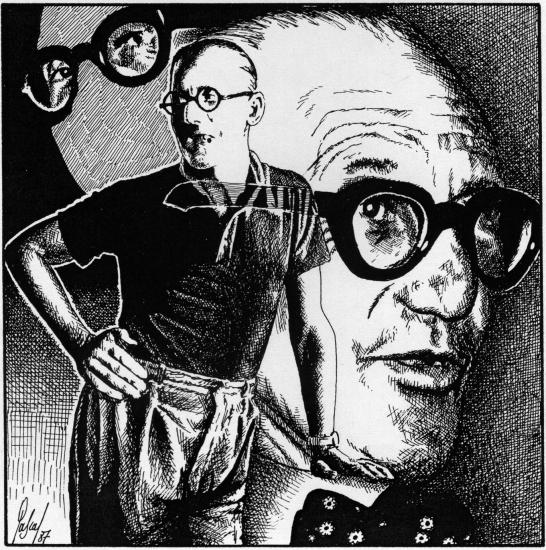 Le Corbusier par Pastis